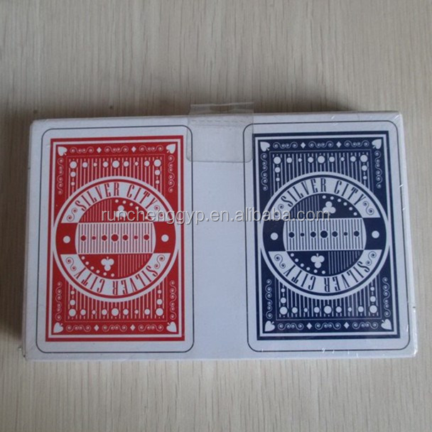 Paper Playing Cards With Dice