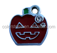 Halloween pumpkins pendanr Excellcent quality fashion christmas pendant With an evil smile