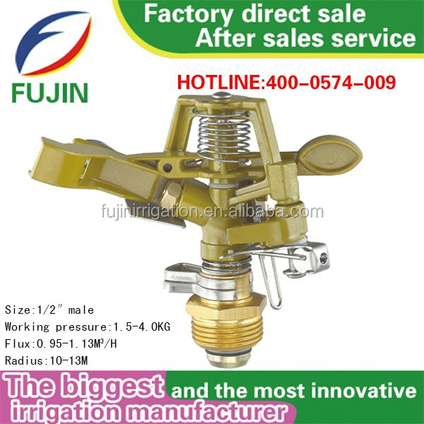 Male auto irrigation system plastic agricultural impact Sprinkler