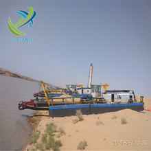 Hydraulic cutter suction dredger river sand dredging machine