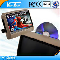 9 inch touch screen car dvd player with CE,RHOS certification