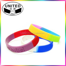 hot sale individual design colorful caterated loom silicone band