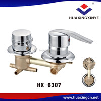 Hot selling pickling chrome plated cheap faucets HX-6307 shower bath brass faucet