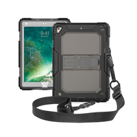 3 Layers Shockproof Full-Body Rugged Hard PC & Soft Silicone Case For apple iPad Pro 9.7/10.5 Air 2