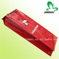 Best price laminated material bag with valve for packaging coffee beans