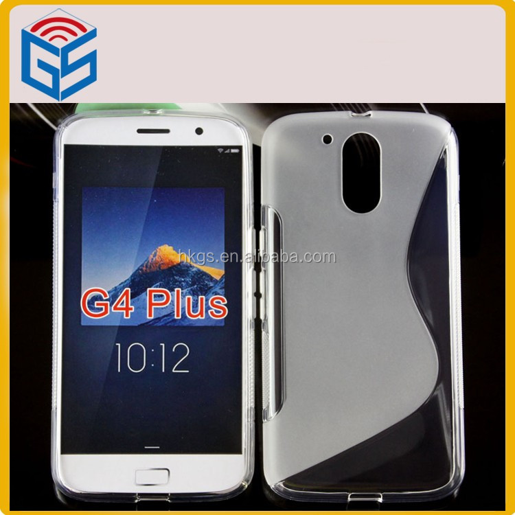 Soft S Line TPU Phone Case For Motorola For Moto G4 Plus <strong>G</strong> Plus G4+ <strong>G</strong>+ G4 Back Cover