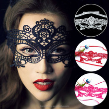 wholesale Masquerade Party black Sexy Lace Mask