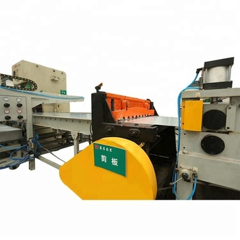 Automatic High Speed Sheet Cutting Machine for Steel Drum Making