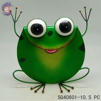 Metal Frog For Home Art Decorative