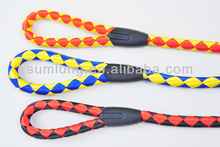 Polyester Braided Traction Rope, Fashion Pet Leash 1/3