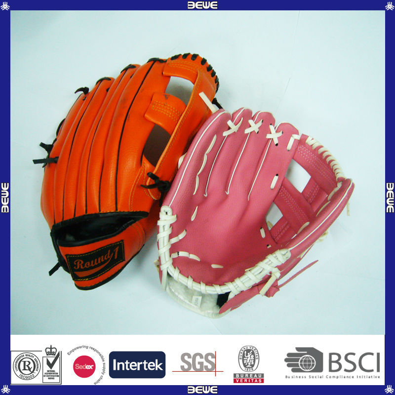 promotional custom good quality kids' mini baseball gloves