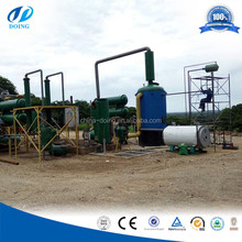 waste oil recycling and regeneration system/waste engine Oil recycling machine /Black Motor Oil Refinery