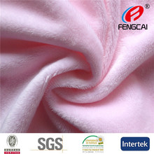 China Manufacturer sells warp knitting 2MM EF velboa fabric for toy