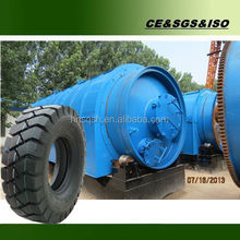 oil and carbon black extracting equipment by using waste tires