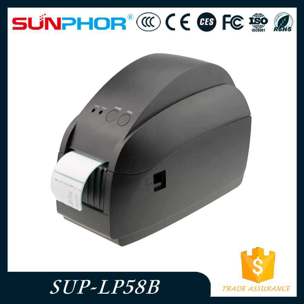 China supplier 58mm Directly label printer with cutter