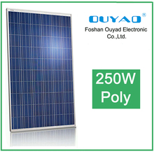 China best selling solar module 250W poly solar panel, pv solar panel for solar power system