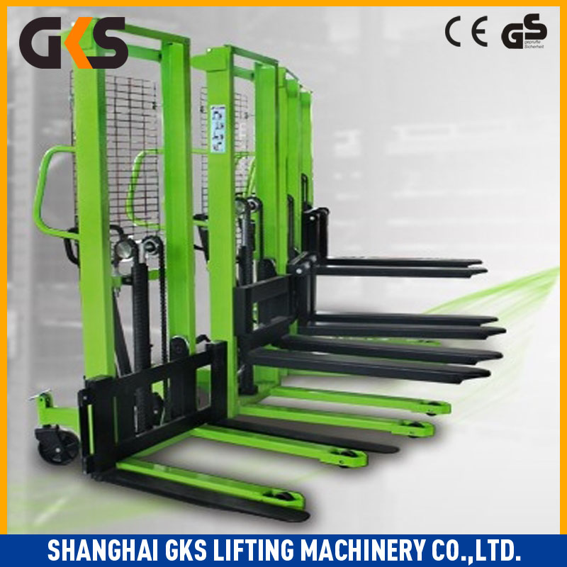 Foot Pedal Without Loads Diesel hydraulic stacker TCM forklift