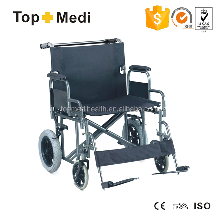 Rehabilitation Medical Care China manufacture Seat widen Manual Bariatric Wheelchair
