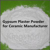 High Purity Quality Gypsum Plaster Powder for Ceramic Manufacturers