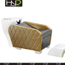 Whole salon furniture sale cheap luxury leather shampoo bed for man for HNQ-2015