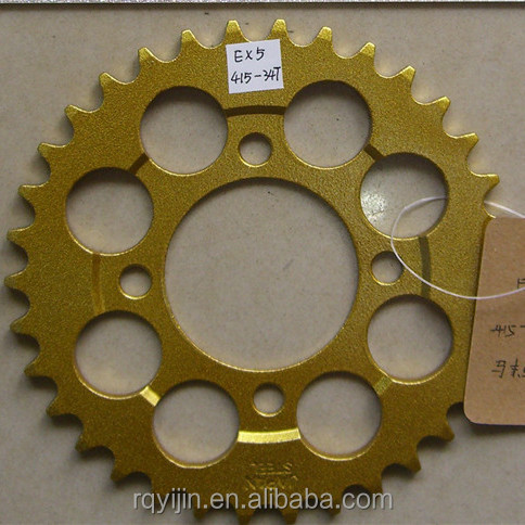 good quality motorcycle chain sprocket for EX5 with best price