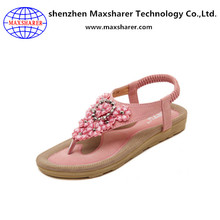 New Summer Fashion in Europe and the diamond wedge sandals model women sandals