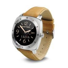 smartwatch front facing camera DM88 with CPU MTK2502C-ARM7, BT4.0LE for smart clock and IPS Full View, 1.22inch TFT screen