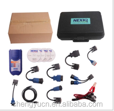 New Arrival Professional Auto Scan Tool NEXIQ 125032 USB Link + Software Diesel Truck Diagnose Interface Nexiq USB Link