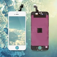 Hot sale items clear lcd screen protector for iphone SE