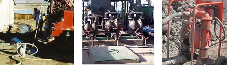 Stainless Steel Air Driven Diaphragm Pump With Santoprene Diaphragm BSPP/NPT Thread Connection