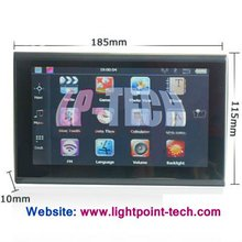 7 Inch Touch screen 4G TF Card WinCE 5.0 OS GPS Navigator
