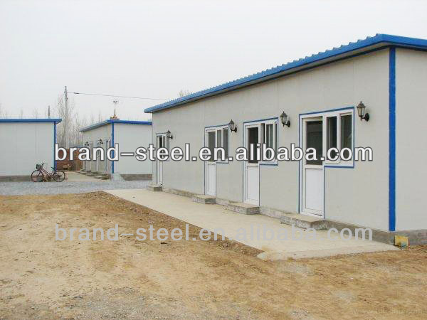 B.R.D prefab container house for temporary office