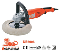"DB5906 1100W Electric Car Polisher 125mm/180mm 7"", China Power Tool, Orient Wealth Brand"