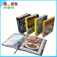 custom color book printing service overseas soft cover book cookbook printing