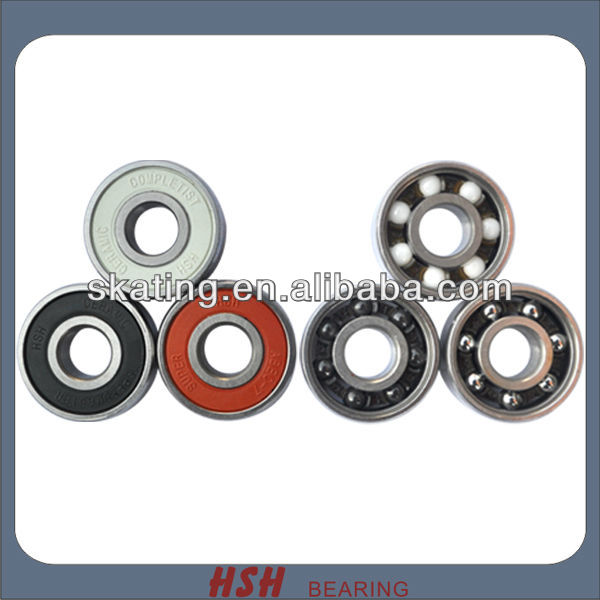 Spin 5 minutes 20 seconds 608 ceramic hybrid Inline skate bearing
