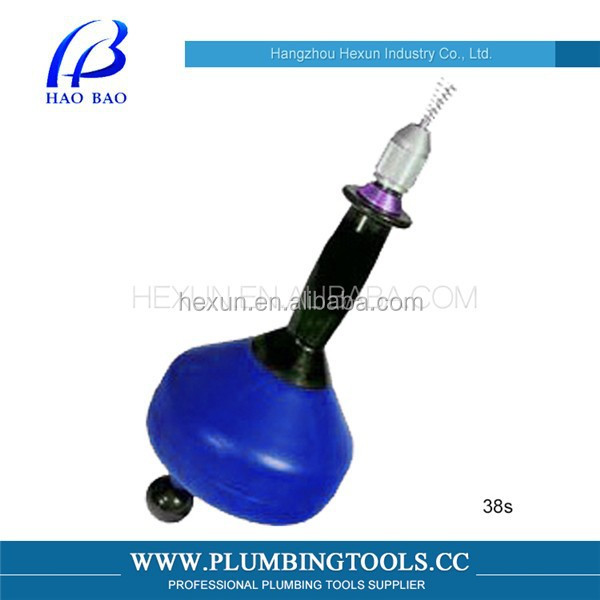 Plumbing Tools Portable Handhold Pipe Cleaning Machine H-38S