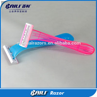 Hot new disposable women razor for ladies travel with stainless steel razor blade
