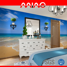 China seas and seaside scenery mural non woven wallpaper