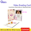 Custom different TFT Screen video recordable greeting cards