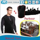 New product warm clothing winter windproof USB battery heated thermal vest
