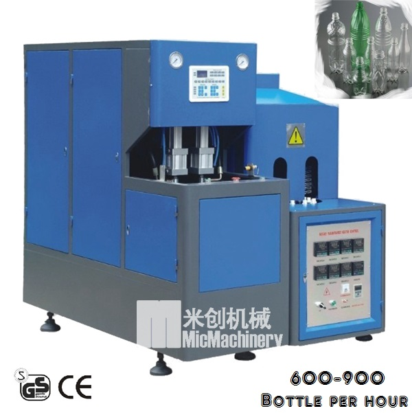 MIC-8Y1 very Steady machine semi automatic used blow machine used blow moulding machine for 0.-2L bottle with CE