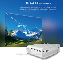 2017 Christmas Gift home theater portable dvd projectors Movie Video DIY Smartphone Projector