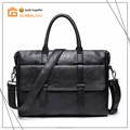 Custom Pu Leather Shoulder Bag Men Messenger