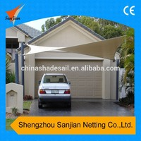 5*5M 100% New HDPE Square Sun Shade Sail, car parking sun shade sail (Manufacture, trade assurance)