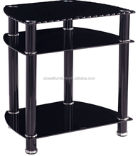 Modern Furniture Tempered Glass Cabinet Tv Stand Home Furniture