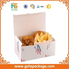 Cheap fast food fried chicken,hamburger,sushi packaging boxes