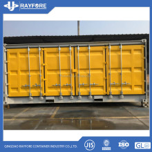 40ft high cube full access side open container