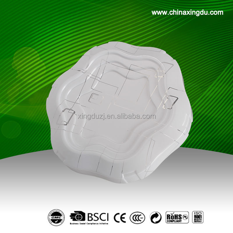High quality,hotsell LED square ceiling light with window in the middle