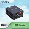 HDMI extender 120m IR control over ethernet cat6 cable with matrix function