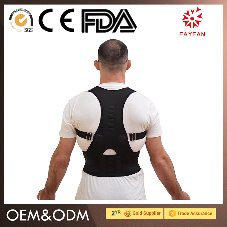 China Factory high compression lumbar support belt for relief back pain correction for student